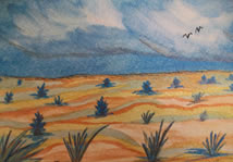 """Streams in the Desert"" by Barbi"
